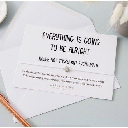 Everything Is Alright Wish Bracelet