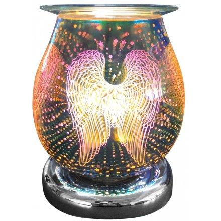 Desire Aroma Lamp Angel Wing, 17cm