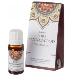 Relax the brain and support stress reduction with this classic sandalwood blended oil.