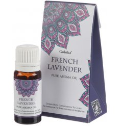 Create an ambience for concentration and meditation with these calming French Lavender essential oils.