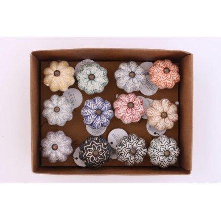Floral Drawer Knobs