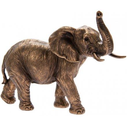 Elephant Bronze Ornament