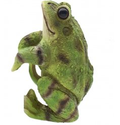 Add a cute touch to any plant pot with this adorable frog decoration