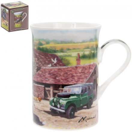Macneil Farmyard China Mug