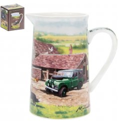 Macneil illustrated farmyard fine china jug with gift box.