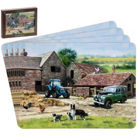 Macneil Farmyard Placemats