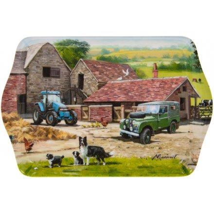 Macneil Farmyard Small Tray