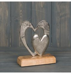 this ornament with a natural wooden block base is a must have for any home