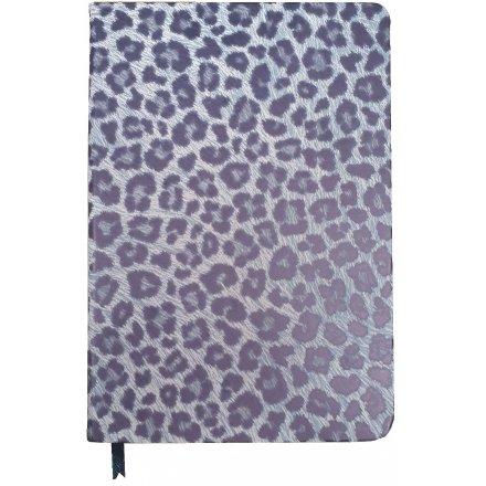 Cheetah Printed Notebook, A5