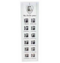 Hang in any nursery or living room to display you treasured memories