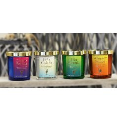 Sure to bring a fizzy feature to your home interior, an assortment of scented candles inspired by our favourite cocktai
