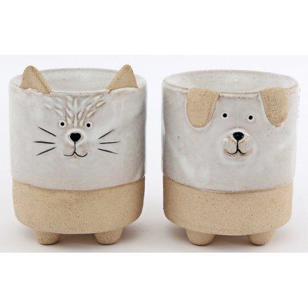 Cat & Dog Ceramic Oil Burners, 10cm