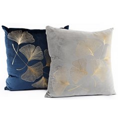 Add a hint of Luxe to your home interior with this gorgeous assortment of plush Navy and Grey toned cushions