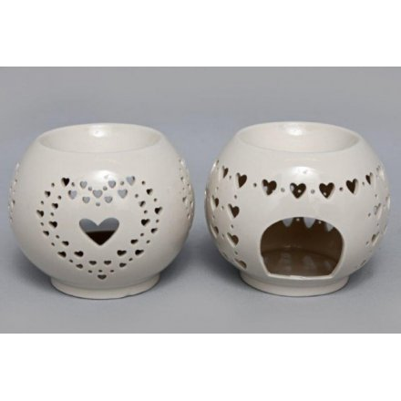Heart Cut Oil Burner Assortment, 11cm