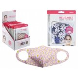 A colourful and floral themed assortment of comfortable face coverings for adults