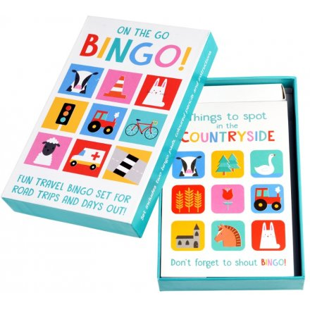 On The Go Bingo, 18cm