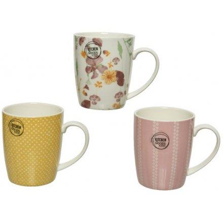 Floral Home Mug, 3a