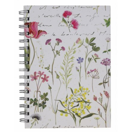 A5 Gardenia Notebook From Turnowsky