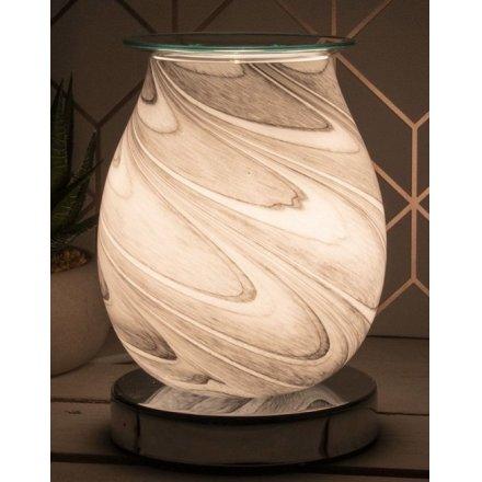 Desire Aroma Lamp - Grey Marble