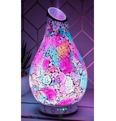 A gorgeous glowing LED Aroma Lamp with an added humidifier use, perfect for filling your home with a tranquil setting