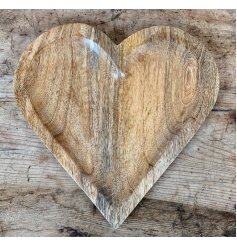 A charming and simplistic designed wooden heart sure to add a country charm vibe to any home space