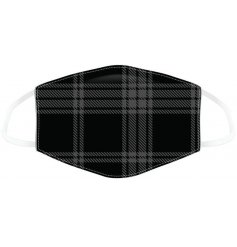 Style up your days out shopping while still staying safe with this tartan print face covering