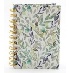 a hardback A6 notebook with a delightful Olive Grove decal