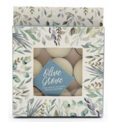 A sweetly scented set of scented tlight candles complete with a pretty printed presentation box