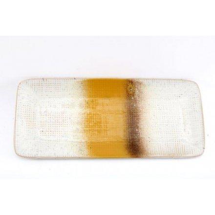 Speckle Glaze Trinket Dish, 30cm