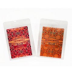 A gorgeously scented variety of Wax Melt Cubes in pretty pattered packaging