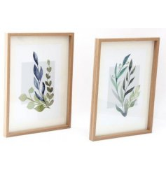 Sure to bring a gorgeous Greenery inspired touch to your home spaces, an assortment of framed prints