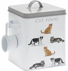 Perfect for storing away all those delicious meals for your feline friend!