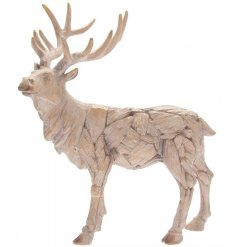 Rustic Driftwood Stag