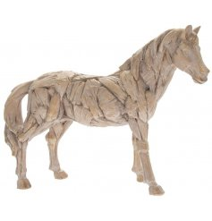 Homely Rustic Driftwood Horse