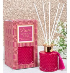 Bring a fresh scent to your home with this beautifully designed Desire Diffuser