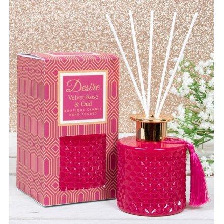 200ml Velvet Rose & Oud Desire Diffuser