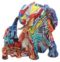 This ornamental figure will be sure to colour into any stylish home.