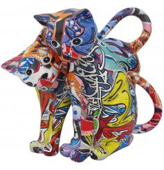These ornamental figures will be sure to add colour into any stylish home.