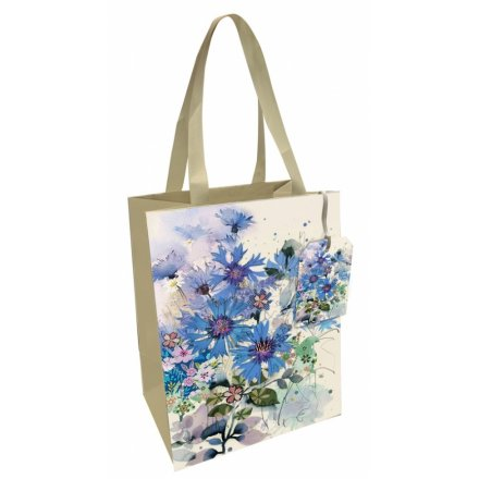 Large Cornflower Printed Gift Bag