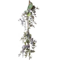 Beautiful natural toned eucalyptus garland branch