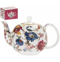 Fill your kitchen or dining room with bright colours and delightful floral patterns with this charming new range of pat
