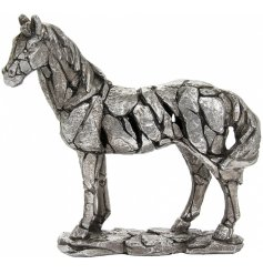 A beautifully detailed ornamental horse decoration from the 'Natural World' collection from Leonardo
