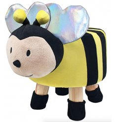 An adorable little Bumble Bee Themed Stool, a perfect little furniture piece to add to a play room or nursery