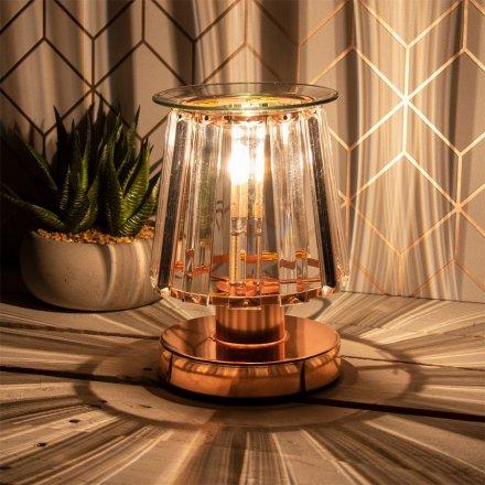 Rose Gold Desire Aroma Lamp - Opaque