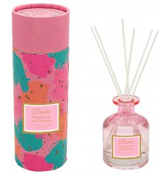 Part of the delightful Desire Range, this sweet and fresh scented Reed Diffuser features a Luxe pink tone bottle