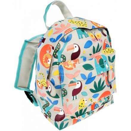 Colourful Animals Illustrated Back Pack