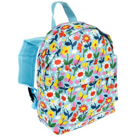 Colourful Flowers Back Pack