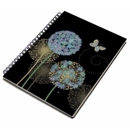 Flowers & Butterflies A5 Notebook