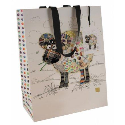 Bug Art Ram Gift Bag, Large