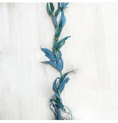 A charmingly simple and on trend garland made up of realistic looking Olive Tree Leaves